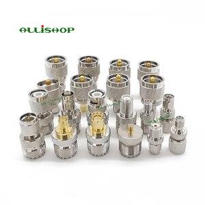 20 типов наборов адаптеров UHF PL259 RF, переходник UHF к SMA SO239 UHF к BNC/TNC/F RF, прямой тестовый коннектор