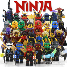 Compatible With font b Lepin b font Ninja Blocks Figures KAI JAY COLE ZANE Lloyd WU