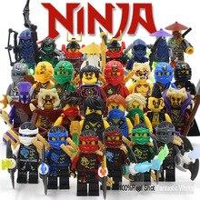 Ninja Minifigure Blocks KAI JAY COLE ZANE Lloyd WU NYA GARMADON Morro Phantom Compatible with Legoes Ninjagoes Blocks Minifigure