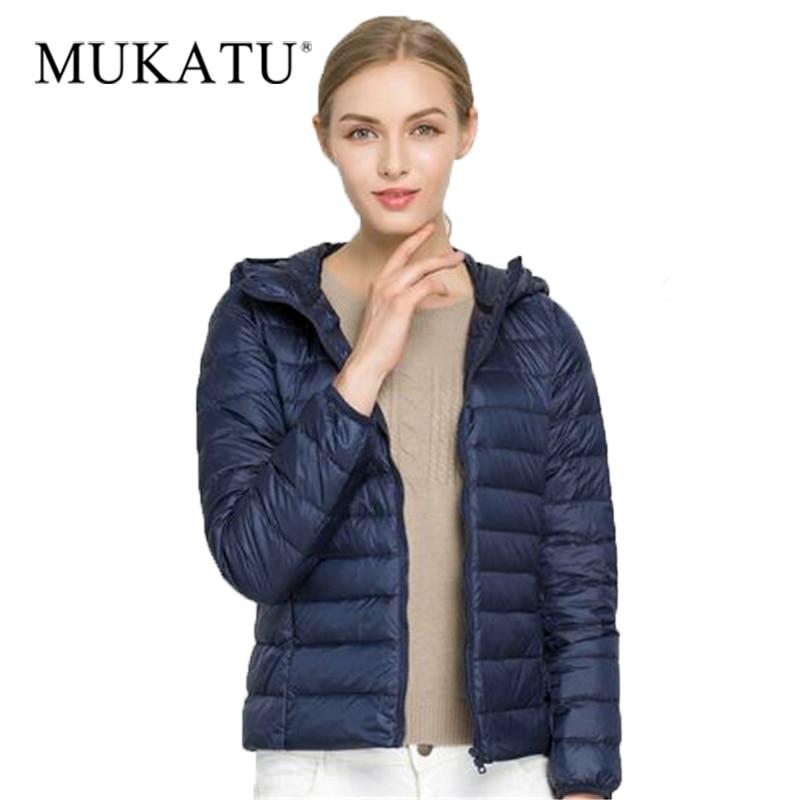 Winter Women Warm Slim   Coat   Ultra Light   Down     Coat   90% Duck   Down   Jackets Female Solid Portabl Outwear