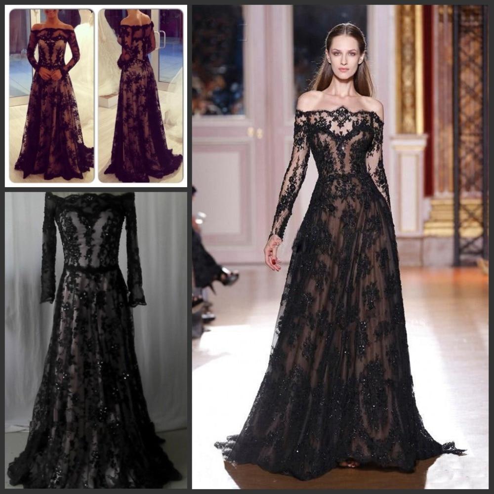 Fashion Long Sleeves Zuhair Murad Evening Dresses 2015 Off -2810