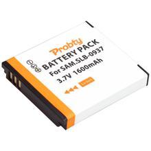1 قطعة 1600mah SLB 0937 SLB0937 بطارية لأجهزة سامسونج SLB 0937 وسامسونج CL5 ، CL50 ، i8 ، L730 ، L830 ، NV4 ، NV33 ، PL10 ، ST10