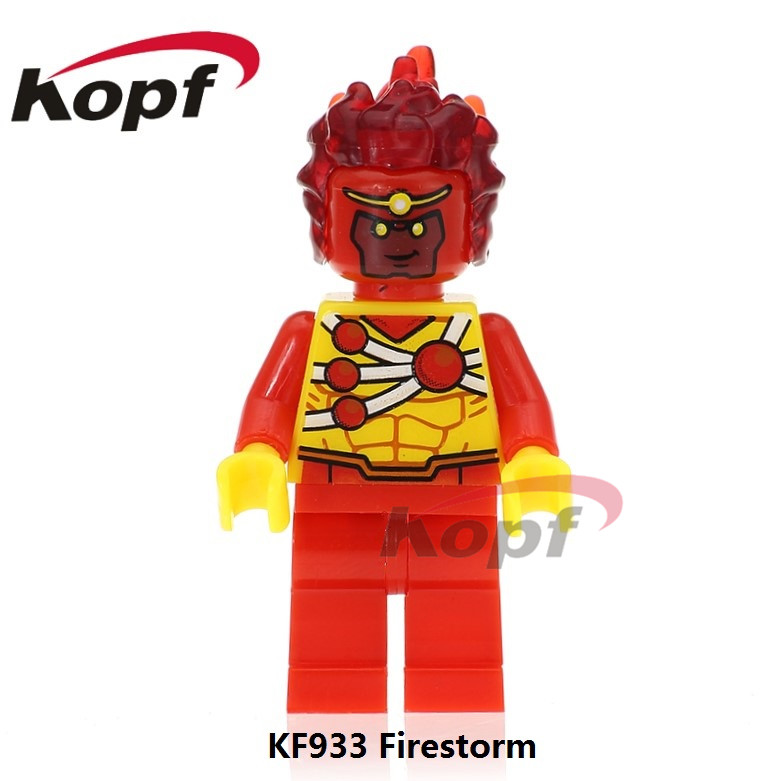 Single Sale Brand New Super Heroes Firestorm Pop Culture Customs Printed Ghostface Building Blocks Best Children Gift Toys KF933