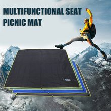 4-6 Persons Ultralight Multifunctional Waterproof Tent Tarp Footprint Ground Sheet Mat For Outdoor Camping Hiking Picnic(China)
