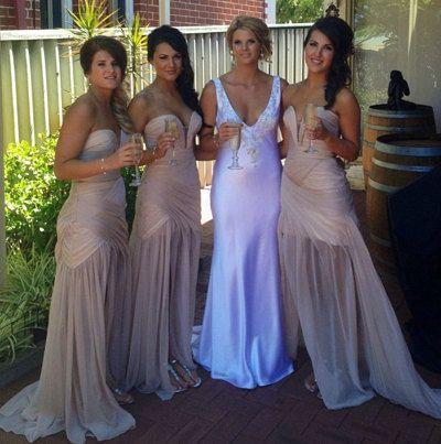 Sexy Turquoise vestidos de festa vestido longo Sheath Sweetheart Long Chiffon Bridesmaid Dresses 2017 Purple Bridesmaid dresses