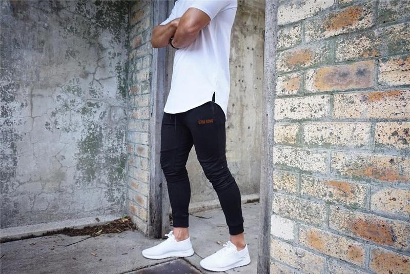 HTB1lgTHXubviK0jSZFNq6yApXXau Fashion Mens Joggers Pants Skinny Casual Trousers Pants Top Quality Men Sweatpants