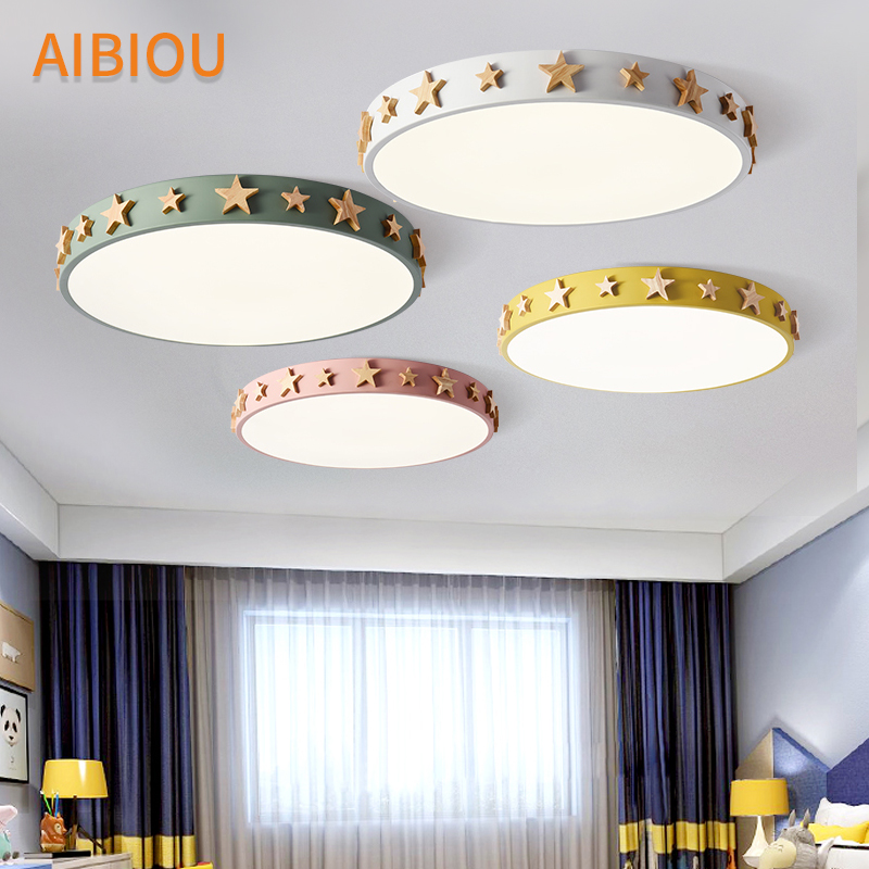 AIBIOU Modern 220V LED Ceiling Lights For Living Room Bedroom Luminaire Star Decoration Metal Frame Ceiling Lighting Fixtures AIBIOU Modern 220V LED Ceiling Lights For Living Room Bedroom Luminaire Star Decoration Metal Frame Ceiling Lighting Fixtures
