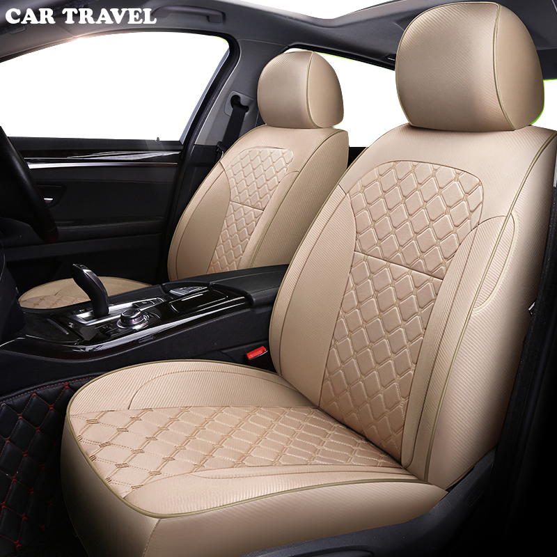 CAR TRAVEL Custom Cloth car seat cover for nissan qashqai j10 almera n16 note x trail