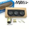 52mm Triple kit Oil Temp Gauge Water Temp Gauge Temperature Oil Pressure Gauge Sensor 3in1 Car Meter Auto Gauge