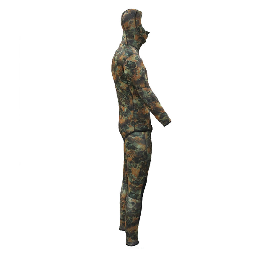 Top quality new 7mm CR neoprene diving suit camo spearfishing wetsuit (4)