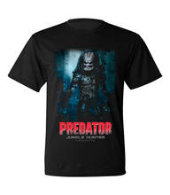 Gildan Predator Film IN DE JUNGLE 1-Sided Gesublimeerd Grote Print Poly T-Shirt Sz S-2XL(China)