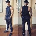 Muscle guys Brand gyms clothing golds shark vest bodybuilding stringer tank top fitness mens singlet sleeveless shirt for men