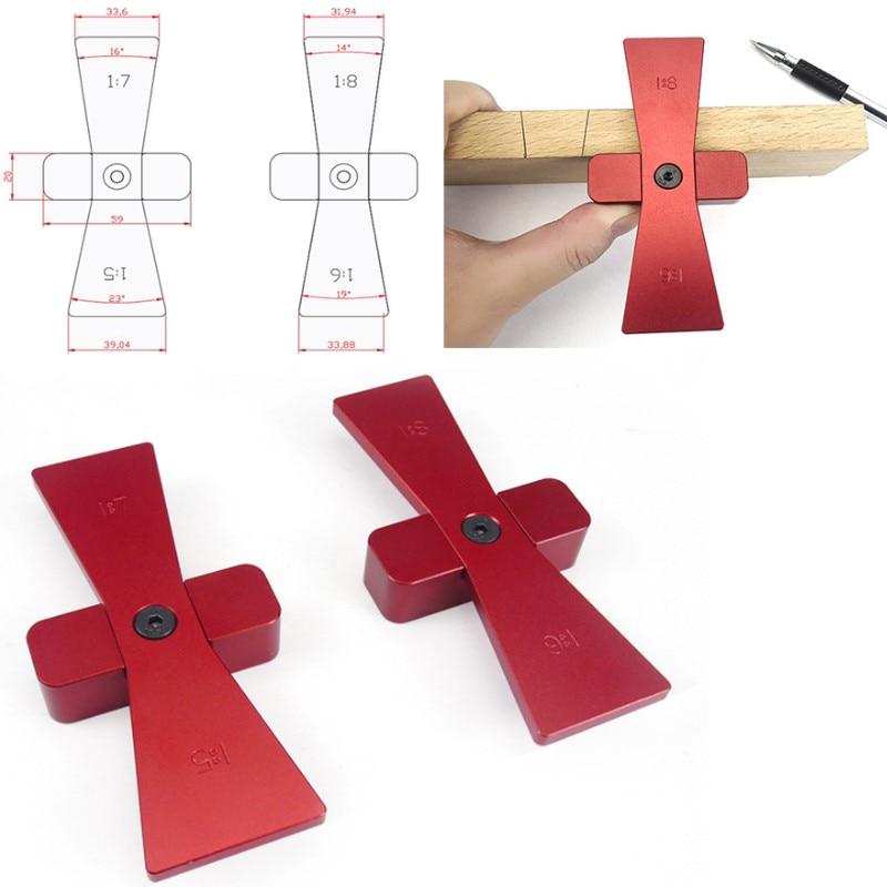 2pcs Dovetail Marker Hand Cut Wood Joints Gauge Dovetail ...