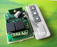 Wholesale Prices DC 12V 10A 2CH Channel 1000M RF Wireless Remote Control System Easy To Stall