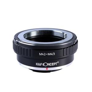 Image 2 - K & F Conceito adaptador para M42 montagem da lente para Micro 4/3 M4/3 Mount Adapter G3 GH2 GH3 GH4 GH5