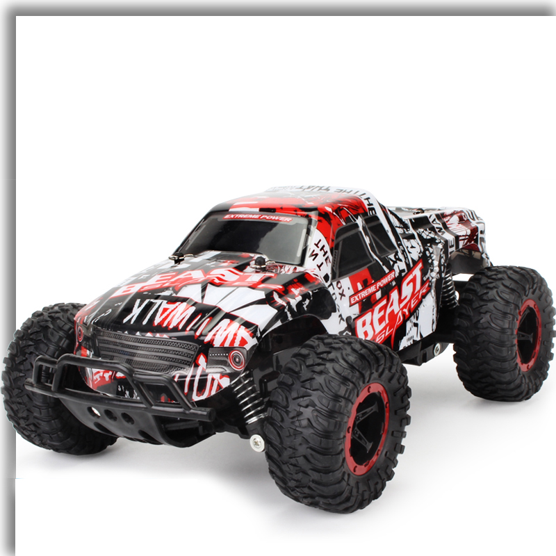 1:16 Toy RC Car Off Road Rock Crawlers Beast 2.4G 25km / h RC Racing - დისტანციური მართვის სათამაშოები - ფოტო 5