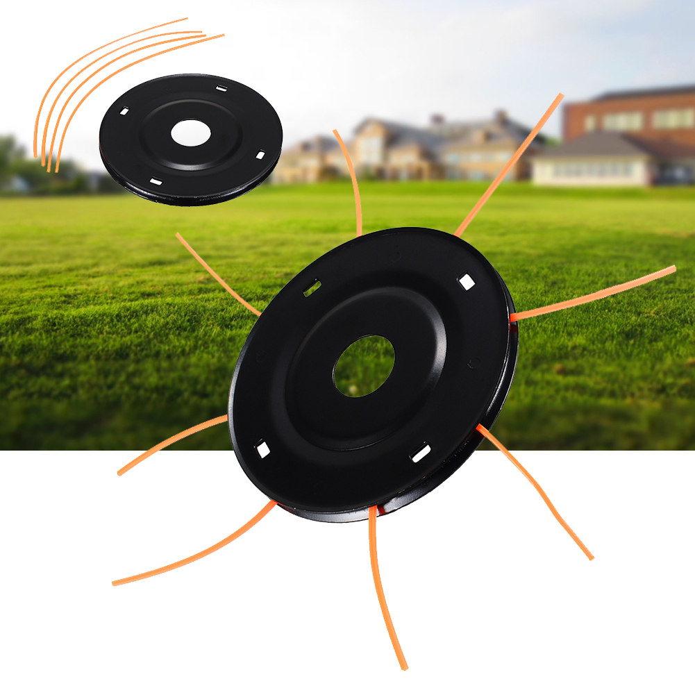 Metal Outdoor Accessories Grass Home Tools Parts Trimmer Head Brush Cutter With String Lawn Mower Replacement Garden Durable