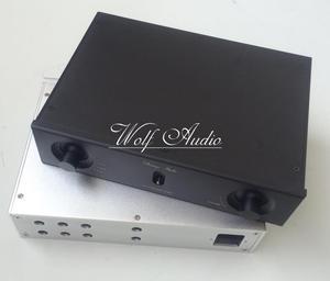 Image 3 - Neue Silber Und Schwarz 2606A Full Aluminium Chassis Endstufe Fall Vorverstärker Shell DIY Audio Amp Box