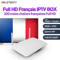 Sweden French Arabic IPTV Box 3500 Channels Subtv Subscription Smart Android TV Set Top Box RK3128