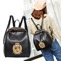 Simples estilo Coreano pure doce cor oxford abelha mulheres mochila mochila escolar estudante universitário saco de lazer mochila