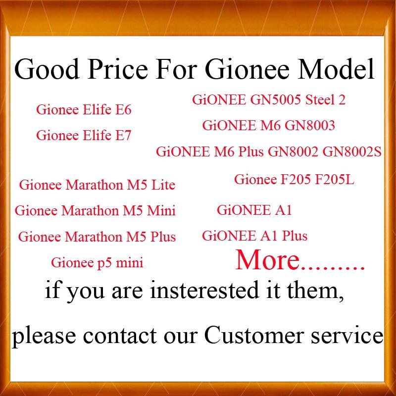 6.0 pouces pour GiONEE M6 Plus GN8002 GN8002S plein écran LCD + écran tactile 100% travail OK pièces de rechange de l'assemblage du numériseur