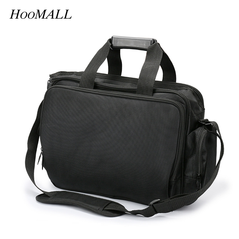 Hoomall Large Capacity Multi-pocket Electrician Tool Bags High Quality Tool Bag Maintenance Package Travel Shoulder Bag ToolKit hoomall tool kit multi functional maintenance electrical shoulder bag large thick canvas oxford cloth tool bag