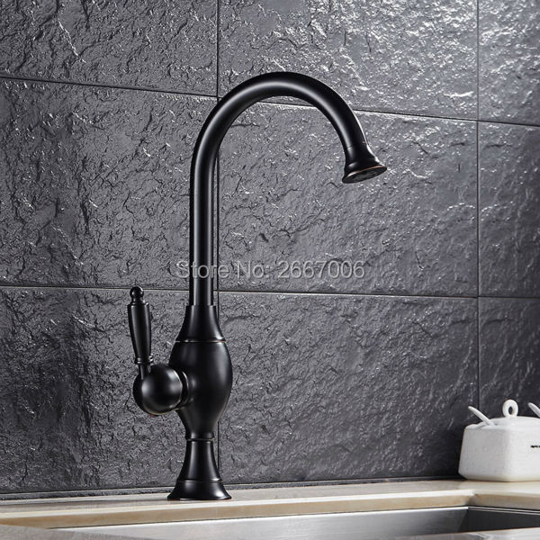 Free Shipping Fancy Brass Basin Faucet New Design Tap Black ORB Color Bathroom Vanity Mixer Tap Deck Mount Faucet Hot Cold ZR376