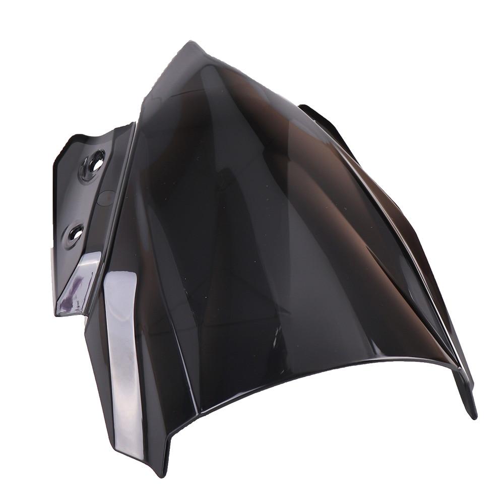 KEMiMOTO Windshield Windscreen For Kawasaki Z650 2017 Z 650 2017 Flyscreen Smoke Black Fairing Cover protection For Kawasaki