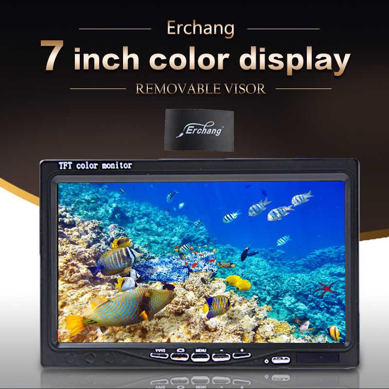"Erchang 1000TVL Underwater Ice Fishing Camera For Fishing Infrared 7"" Video Monitor AntiSunshine Fish Finder Ice Fishing Camera"