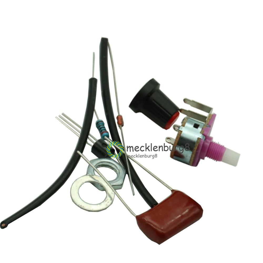 2PCS new 100W Dimmer Module Switch Speed Regulation Module DIY Kit
