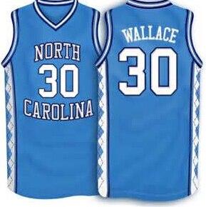 Image result for unc carolina blue basketball uniforms rasheed wallace