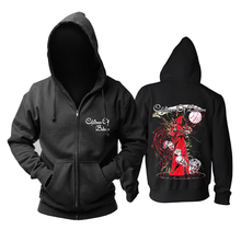 Bloodhoof Children Of Bodom Melodische Death Metal Katoen Zwarte Hoodie Aziatische Grootte