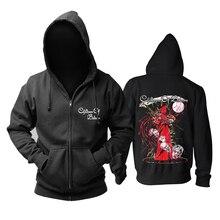 Bloodhoof crianças de bodom morte melódica metal algodão preto moletom com capuz tamanho asiático