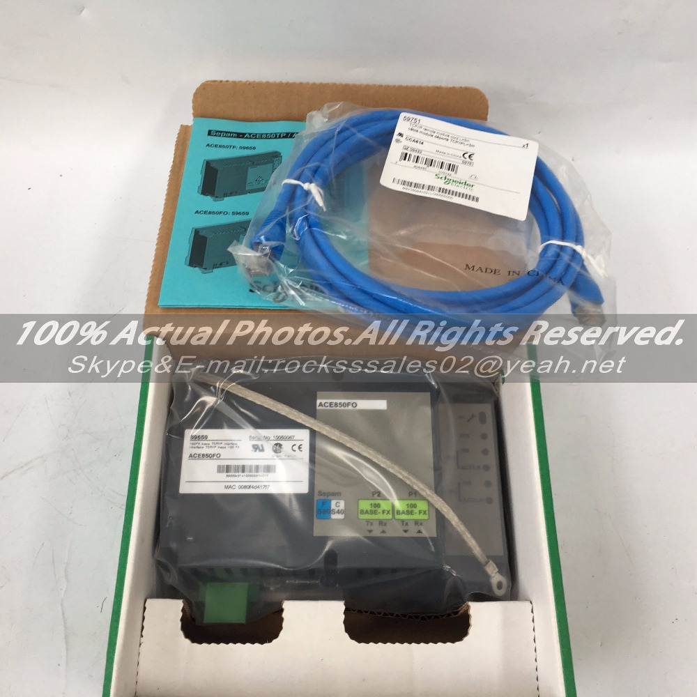 IN STOCK !!! new original ACE850FO Interface TCP/IP base 100 fx 59659  with 6 months warranty new in stock ip jw1 cy