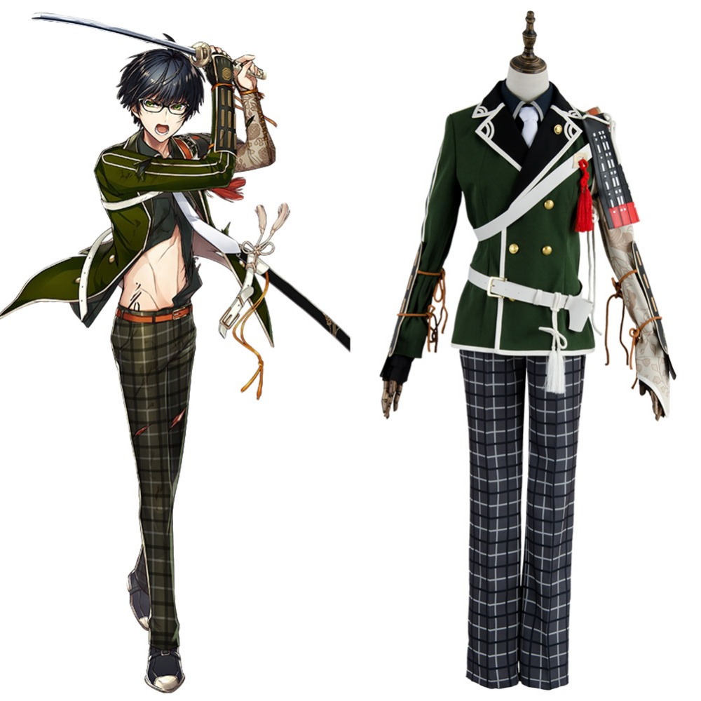 Touken Ranbu Online Costume Kotegiri Gou Outfit Cosplay Full Sets Fashion Uniform Halloween Carnival costume Men Women Cosplay