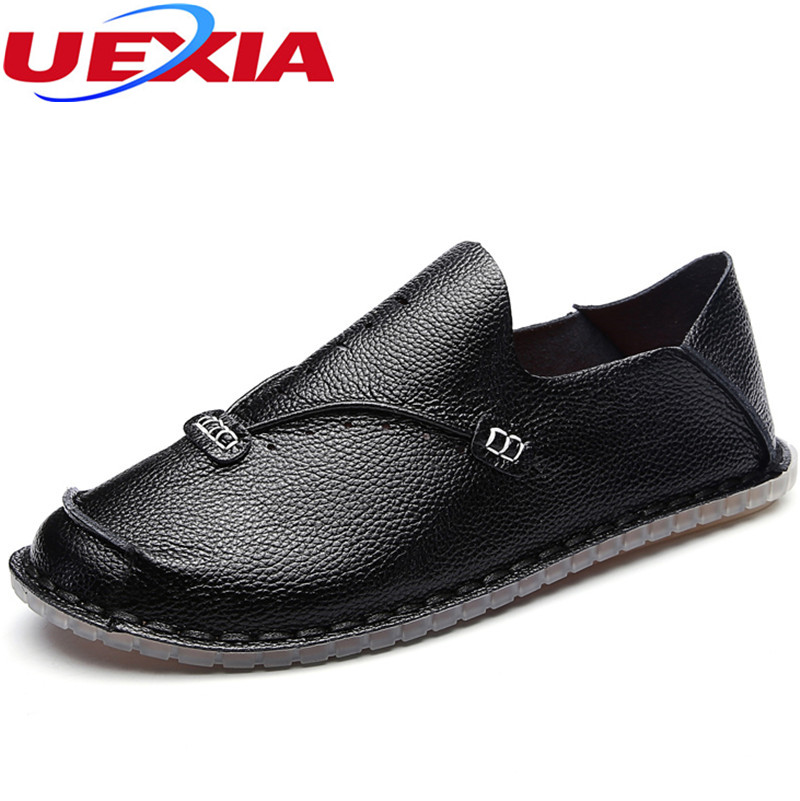 Fashion Men Shoes Cool Summer Comfortable Breathable Leather Flats Zapatos Shoes Casual Male Shoes Fashion Handmade Soft bottom top classic hot sale men shoes casual leather flats shoes men summer cool