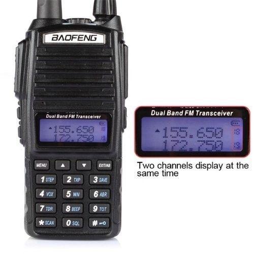 Baofeng UV-82 Dual-Band 136-174 / 400-520 MHz FM Ham - Walkie-Talkie