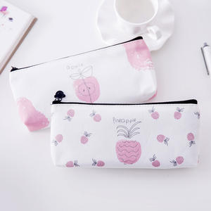 Stationery Pencil-Box Storage-Products Student Small DL South Fresh-Fruit-Bag Canvas