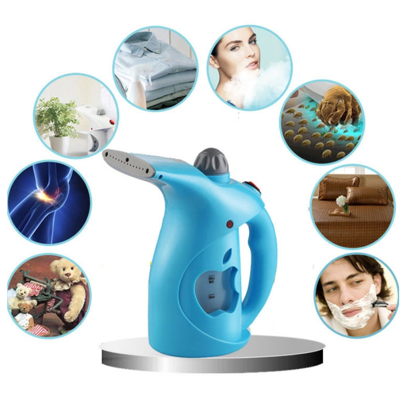 Hot Selling Handheld Ironing Machine Portable Dry Cleaning Travel Garment Steamer wiht Brush for Clothes Iron garment tuv approved garment steamer ironing for all types of fabric wrinkle odor dust and germs free