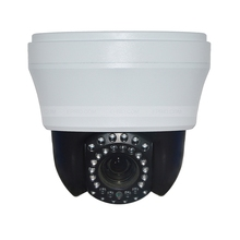 4 inch CCTV Security 1.3MP 960P Sony cmos mini indoor ip ptz Dome camera 10X Optical focus