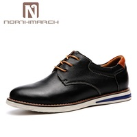 NORTHMARCH Hot Sale Big Code Spring Autumn Men Shoes Genuine Leather Oxford Shoes Men Dress Business Formal Shoes Sapato Social