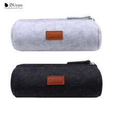 DUcare Makeup Bag Brush Cylinder Portable Travel Pouch Beauty Case Organizer Cosmetic Tools