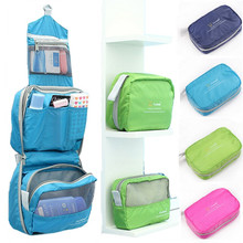 Woman Toiletry Makeup Kit Bag Storage Waterproof Cosmetic Bag Picnic Wash handBag Korea Multifunctional Organizer travel bag