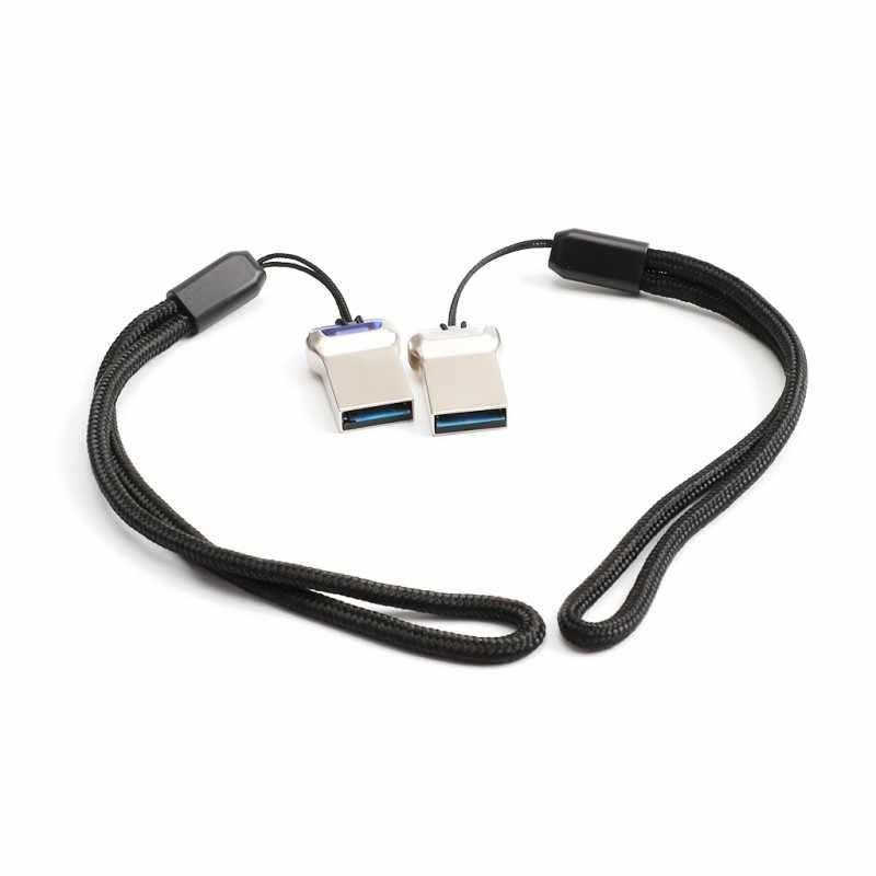Мини металлический USB флэш-накопитель USB 3,0 Флешка u-диск с хвостовой подсветкой 32G Мини Портативный подключи и играй