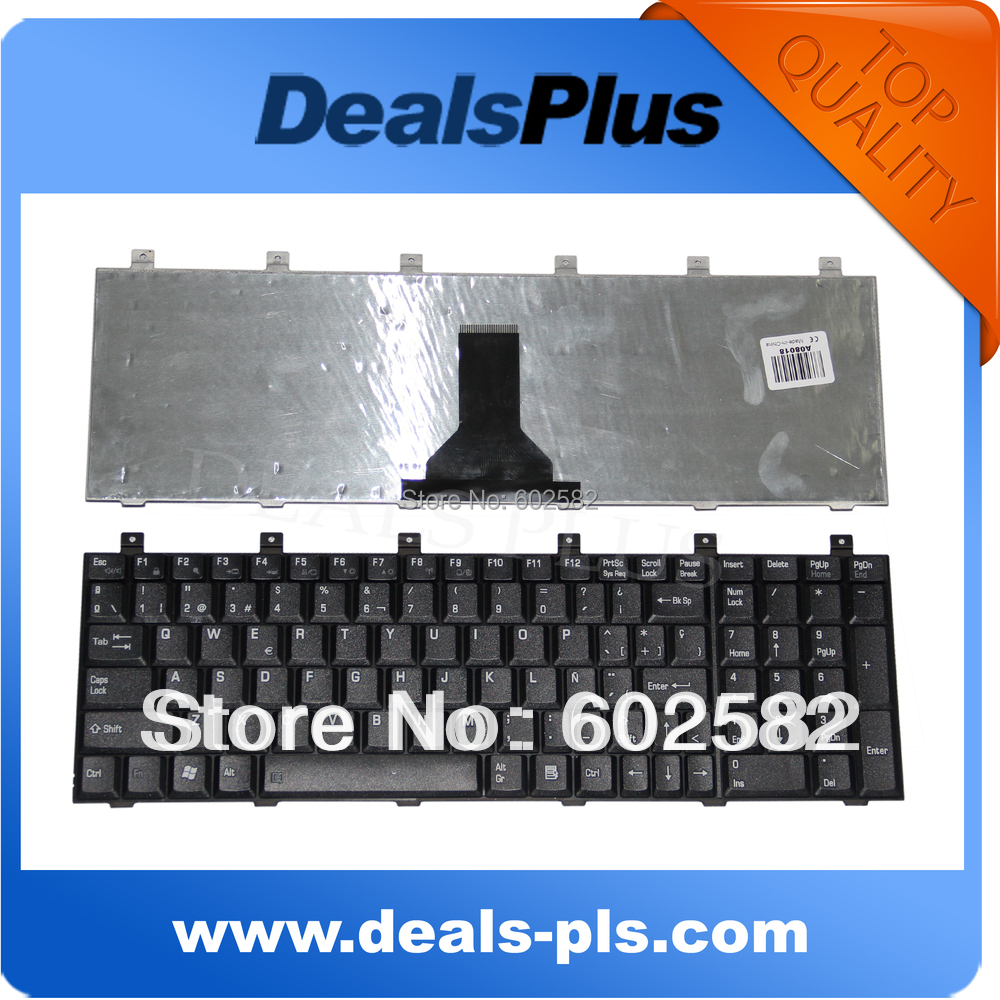 Laptop Keyboard For Toshiba P100 P105 L100 M60 M65 Keyboard Teclado Spanish Computer Peripherals Keyboards