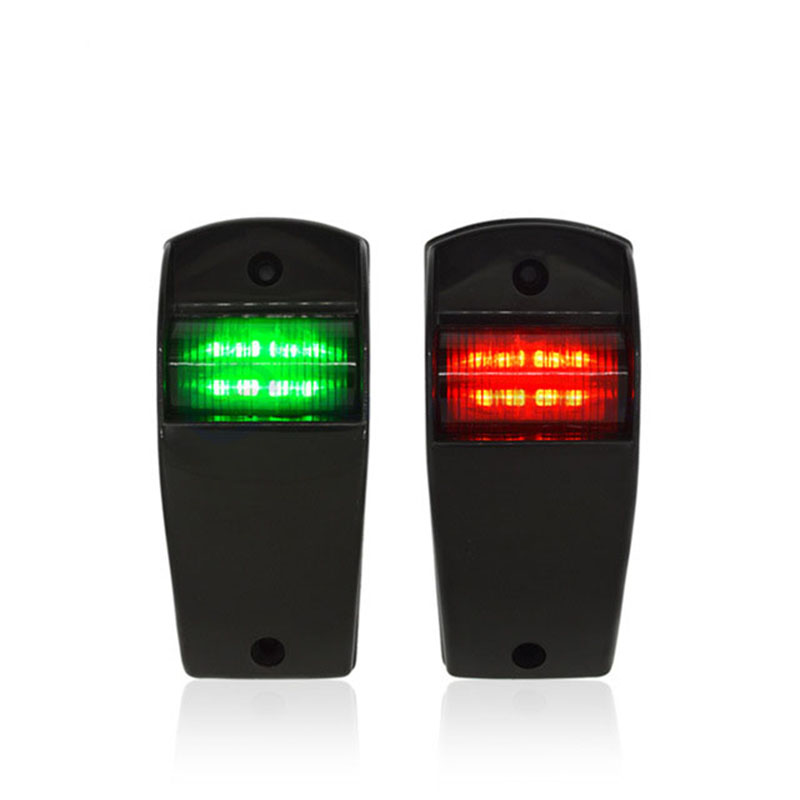 1Set 12V Marine Boat Yacht Navigation Light Red Green Port Starboard Light Sailing Signal Lamp-in Marine Hardware from Automobiles & Motorcycles
