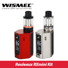Original wismec reuleaux rxmini 80 w tc kit w/rxmini cuadro mod batería de 2100 mAh y Reux Mini Tanque 2 ml vs Rexleaux RX200 TC