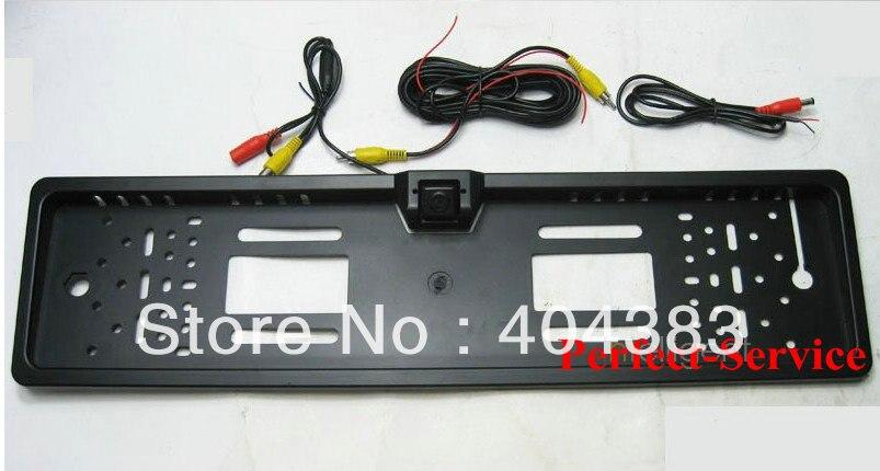 Free Shipping EU European font b Car b font SUV MPV License plate frame rear view