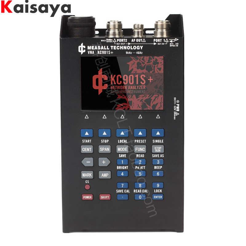 をベクトルネットワークアナライザ KC901S + 日フィーダー分析周波数スペクトル電界強度ラジオ周波数 SWR 定在波テスト