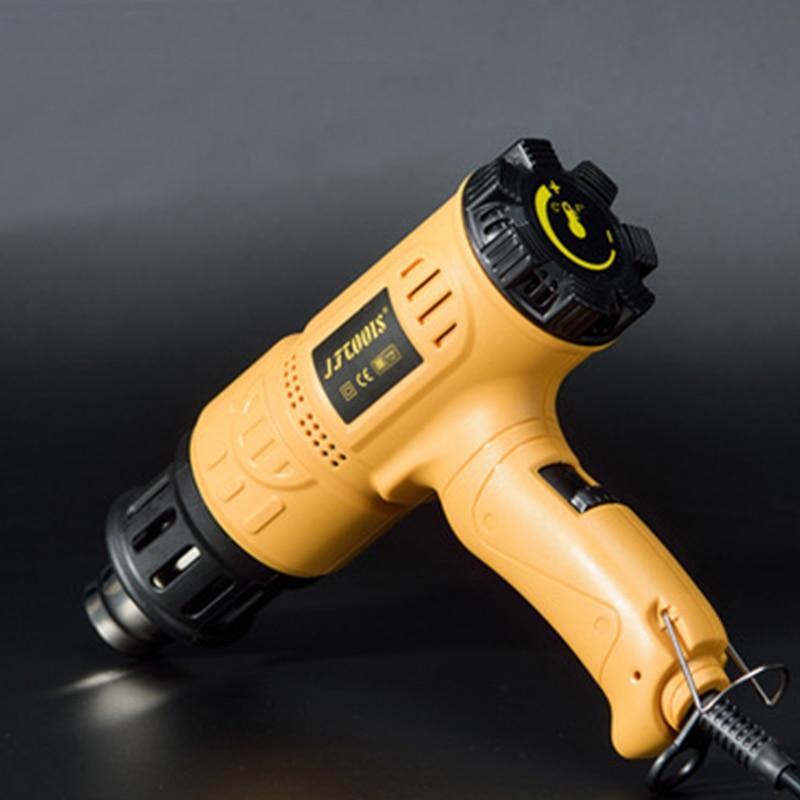 1600w Industrial Hot Air Gun Kit Heat Gun Precision Temperature Control Dual Temp-settings for Removing Paint and Bending Pipes